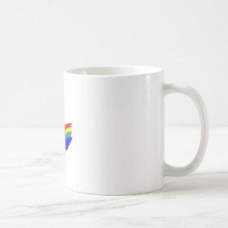 RAINBOW DOVE COFFEE MUG