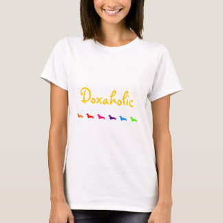 Rainbow Doxaholic-Smooth coats T-Shirt