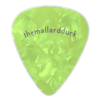 Rainbow Dragon Guitar Pick Pearl Celluloid Guitar Pick