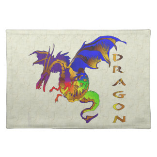 Rainbow Dragon Placemats