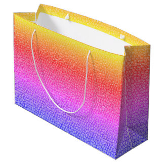 Rainbow Dragon Scale Fantasy Gift Bag