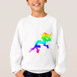 rainbow dragon sweatshirt