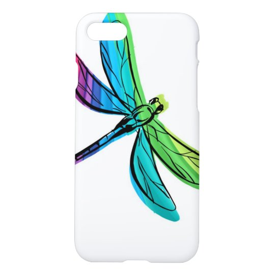 Rainbow Dragonfly iPhone 8/7 Case