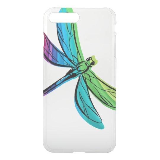 Rainbow Dragonfly iPhone 8 Plus/7 Plus Case