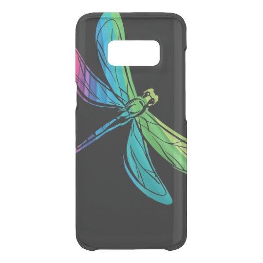 Rainbow Dragonfly on Black Uncommon Samsung Galaxy S8 Case