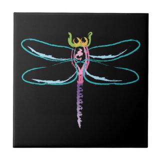 Rainbow Dragonfly Tile