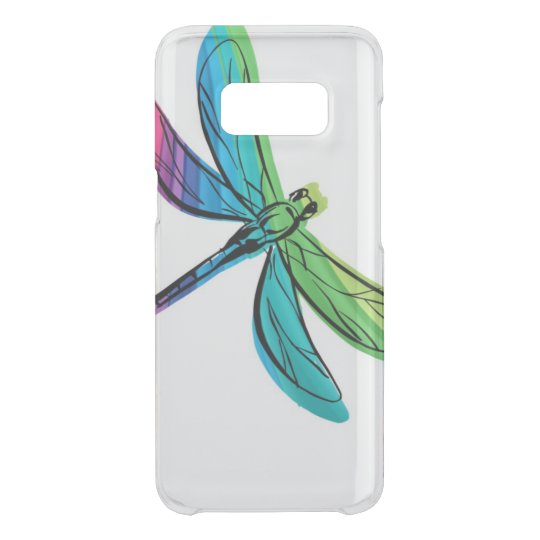 Rainbow Dragonfly Uncommon Samsung Galaxy S8 Case