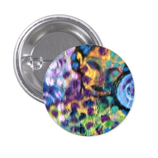 Rainbow dreaming badge 1 inch round button