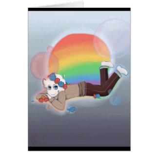 Rainbow Dreaming Card