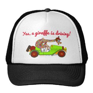Rainbow Driving Fast Trucker Hat