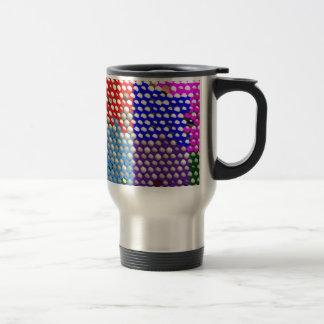 RAINBOW DROPS : Colorful Dot patterns Coffee Mugs