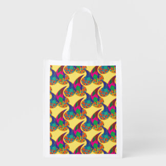 Rainbow drops I Reusable Grocery Bag