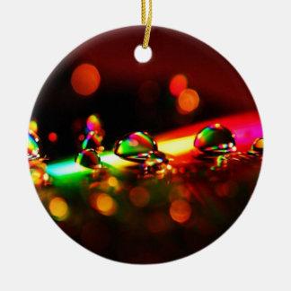 Rainbow Drops Ornament