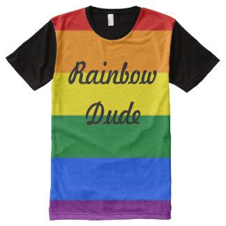 Rainbow Dude All-Over-Print T-Shirt