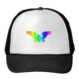 Rainbow Eagle 4 Trucker Hat
