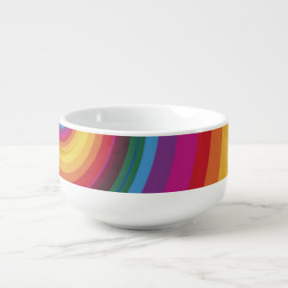 Rainbow Eclipse Soup Mug