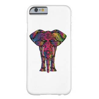Rainbow Elephant Bohemian Hippie Barely There iPhone 6 Case