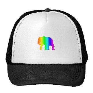 Rainbow Elephant Trucker Hat