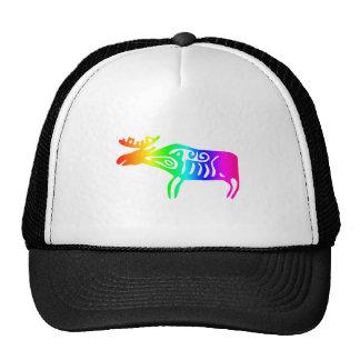 Rainbow Elk Trucker Hat