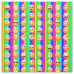 rainbow emoji fabric