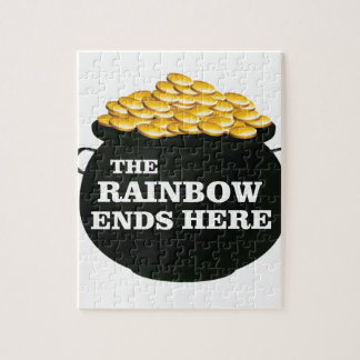 rainbow ends here jigsaw puzzle