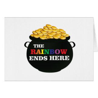 rainbow ends pot card