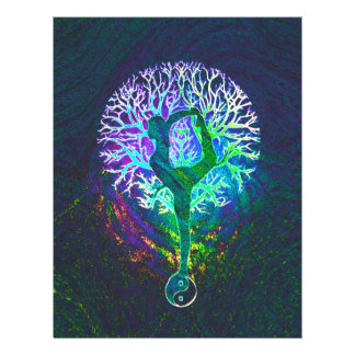 Rainbow Energy Yin Yang Yoga Flyer