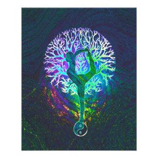 Rainbow Energy Yin Yang Yoga Full Color Flyer