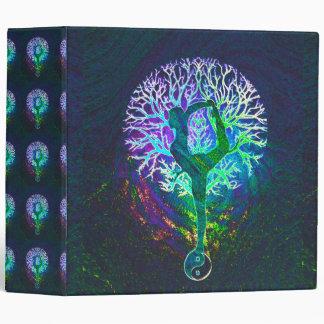 Rainbow Energy Yin Yang Yoga Vinyl Binder