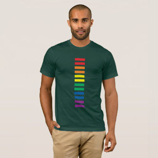 RAINBOW EQUALITY SIGN LGBTQI GAY LESBIAN PRIDE T-Shirt