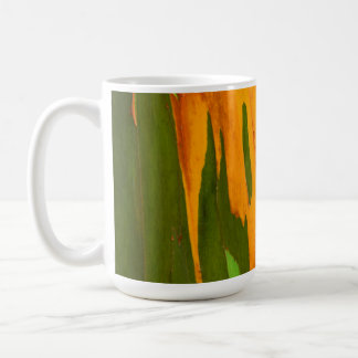 Rainbow Eucalyptus bark, Hawaii Coffee Mug