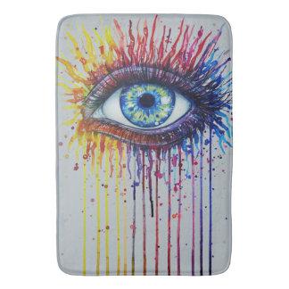 Rainbow Eye Bath Mat