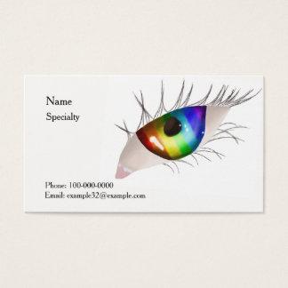 Rainbow Eye Business Card
