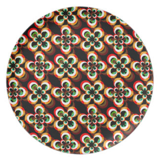 Rainbow Eyes Plate