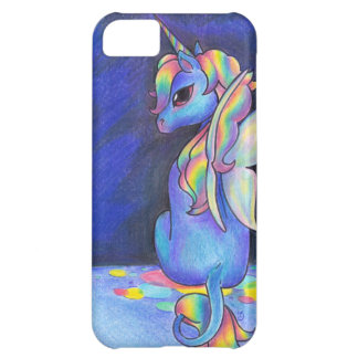 Rainbow Faerie Unicorn iPhone 5C Cases