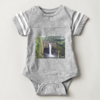 Rainbow Falls Hawaii Baby Bodysuit