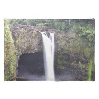Rainbow Falls Hawaii Placemat
