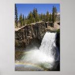 Rainbow Falls in Mammoth Poster