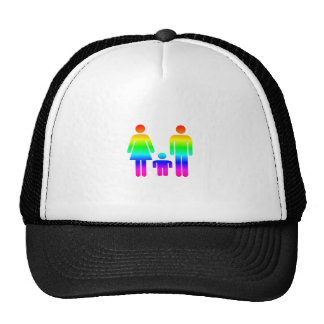 Rainbow Family Trucker Hat