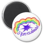 Rainbow Farts magnet