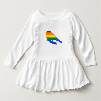 Rainbow Finch Dress
