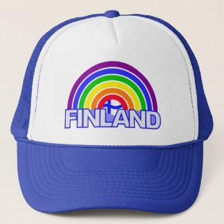 Rainbow Finland hat