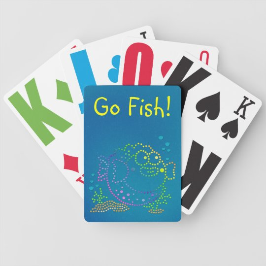 Rainbow Fish Bicycle Playing Cards