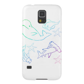 rainbow fish cases for galaxy s5