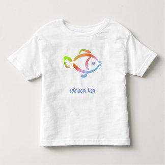 Rainbow fish toddler t-shirt