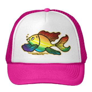Rainbow Fish Trucker Hat