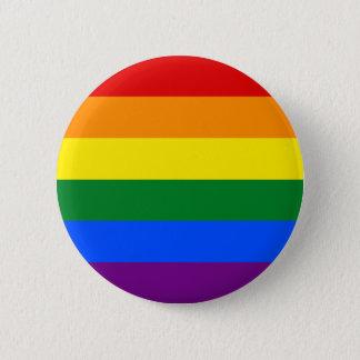 Rainbow Flag 2 Inch Round Button
