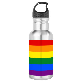 Rainbow Flag 532 Ml Water Bottle