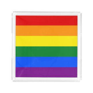 Rainbow Flag Acrylic Tray