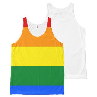 Rainbow Flag All-Over-Print Tank Top